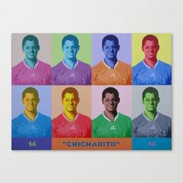 """""""Chicharito"""" Canvas Print"""