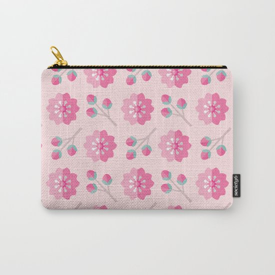 SAKURA CHERRY BLOSSOMS Carry-All Pouch