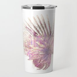 Lets draw a Lionfish Travel Mug