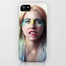 Glitter and grease. iPhone Case