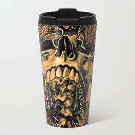 Skull Flora Travel Mug