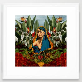 Frida V Framed Art Print