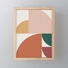 Abstract Geometric 10 Framed Mini Art Print