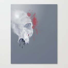 Wasting Wolves Canvas Print