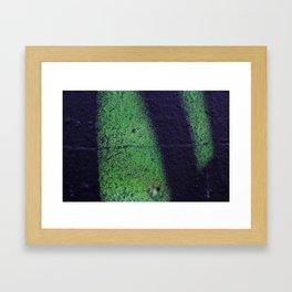 Dash Framed Art Print
