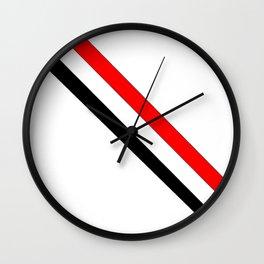 Flag of yemen 3 -yemen,اليَمَن ,Yemeni, Yemenite,Sabaeans,Aden, يمني Wall Clock