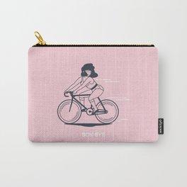 Bike Gang Girl (Boy Bye) - Pink Carry-All Pouch