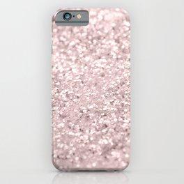 Blush Glitter Dream #1 #shiny #decor #art #society6 iPhone Case