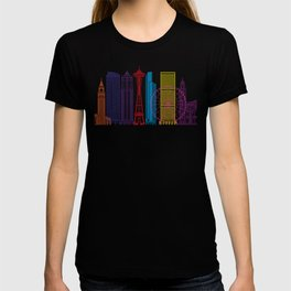 Seattle V2 skyline pop T-shirt
