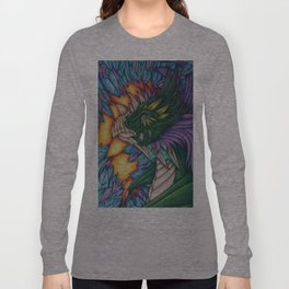 Forest Dragon Long Sleeve T-shirt