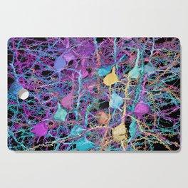 Cortical Brain Neurons by Kfay Cutting Board