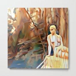 Nude Statue Coburg 1 Metal Print