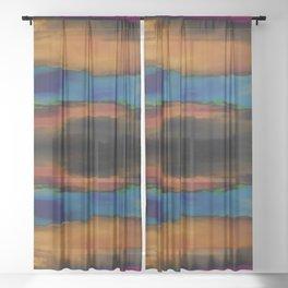 Shimmering Reflections Sheer Curtain