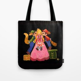 One kiss One up! Tote Bag