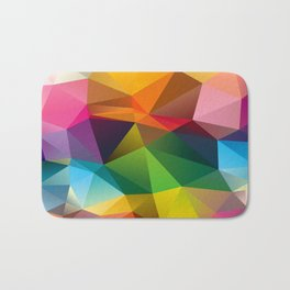 Geometric view Bath Mat