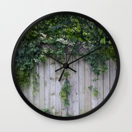 The Green Can Never Be Blocked Wall Clock