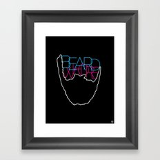 Beard Whore [ver.1] Framed Art Print