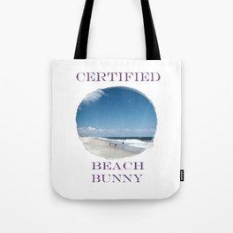 Certified Beach Bunny Tote Bag