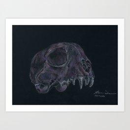 Mr. Bitey Art Print