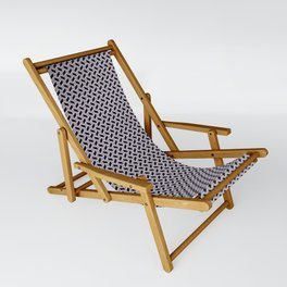 Gridded Sling Chair