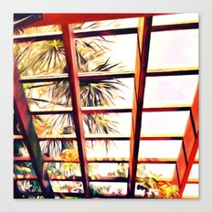 View From the Pergola Canvas Print