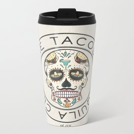 The Tacos and Tequila Club Metal Travel Mug