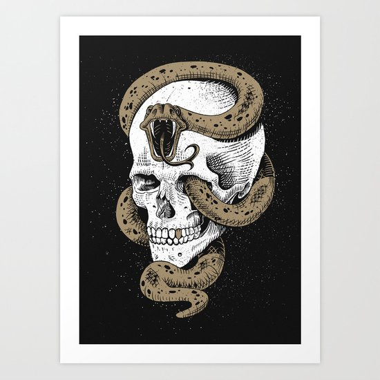 The Dark Mark of You-Know-Who Art Print