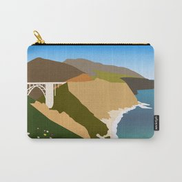 Big Sur Illustration Carry-All Pouch