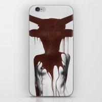taurus iPhone & iPod Skins featuring Taurus by Ruben Ireland