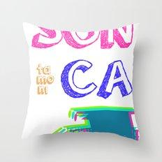 SUNta moniCA Throw Pillow
