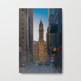 Toronto old city hall courthouse Metal Print