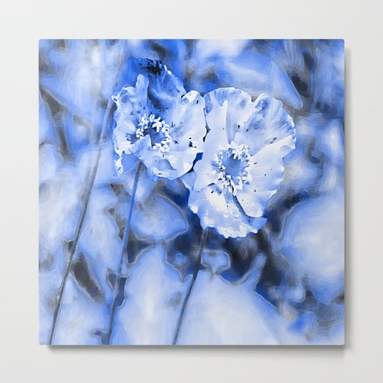 summer blue Metal Print