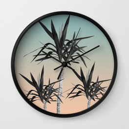 Palm Trees - Cali Summer Vibes #7 #decor #art #society6 Wall Clock