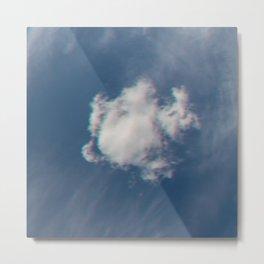 Lone Cloud Metal Print