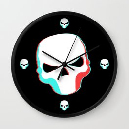 Skullomanic Wall Clock
