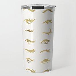 Mascara Envy – Gold Palette Travel Mug