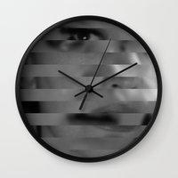 faces Wall Clocks featuring faces by Rosa Picnic