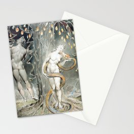 William Blake The Temptation and Fall of Eve Stationery Cards