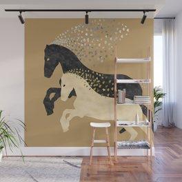 Free Horses Wall Mural