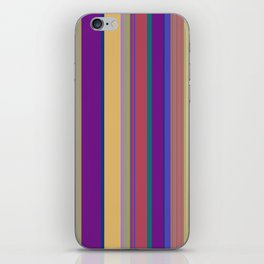 awning stripe iPhone Skin
