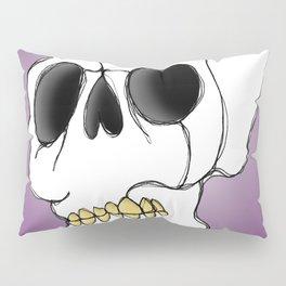 Skull - Side View Pillow Sham