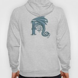 Dragon Letter H, from Dracoserific, a font full of Dragons. Hoody