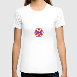 AUTISM medical alert identification tag T-shirt