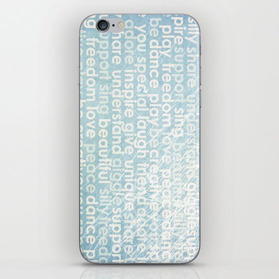 Defining you iPhone & iPod Skin
