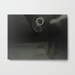 Night circles Metal Print