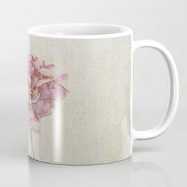 Pink Vintage Hydrangea Coffee Mug