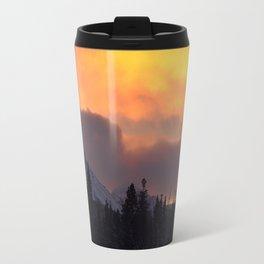 Sunrise Behind Chugach Mts ~ II Travel Mug