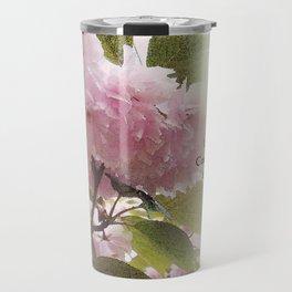 Serenity Prayer Cherry Blossom Glow Travel Mug