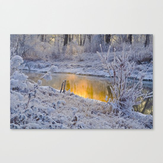 It's Gold Outside Canvas Print