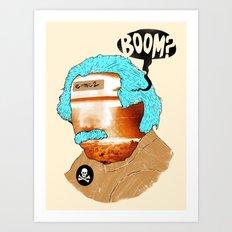 BOOM? Art Print